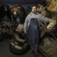 "View ""The Taxidermist"""